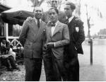 Antonioni nel 1931 al Tennis Club Marfisa.