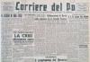 "My years on the ""Corriere del Po"""